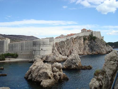 Bokar Fortress from Lovrijenac Fortress | by thomasbrightbill