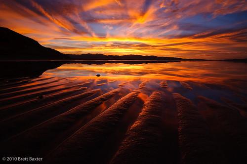 sunset saltlakecity saltflats saltair brettbaxterphotography