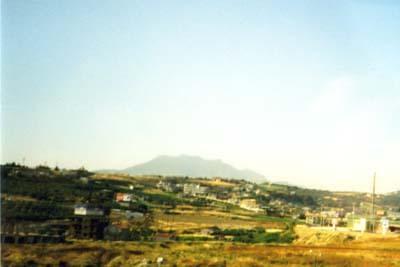 Berg Jouchtas - der schlafende Zeus