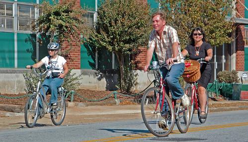 Biking Green street