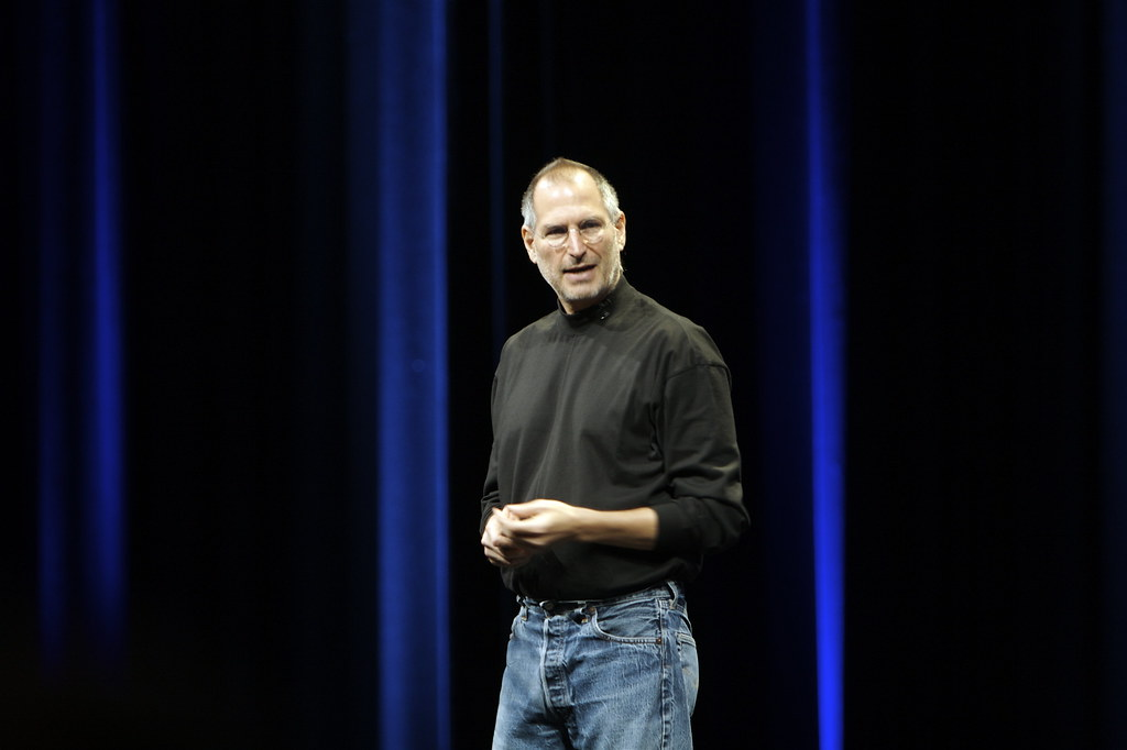 Steve Jobs @ WWDC 2007 | Steve Jobs speaks at his keynote at… | Flickr