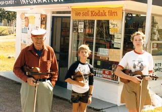 Gas Station Fiddlers 1985 Copper Harbor