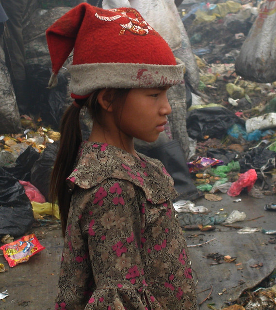 Merry Christmas Stung Meanchey Cambodia - has a sponsor