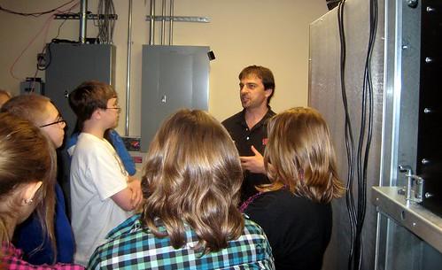 Steve Barnet and computers   Steve Barnet, part of the ...Icecube Neutrino Observatory White Book