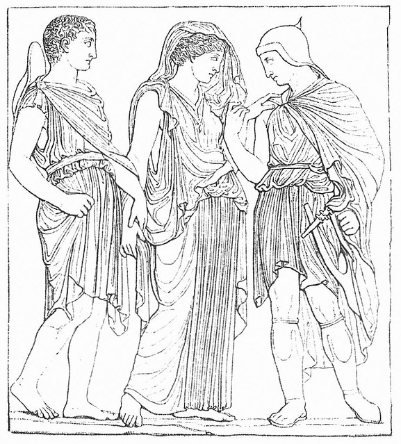 -0410 Hermes, Eurídice y Orfeo