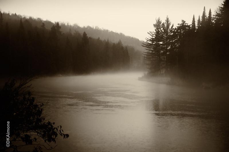 Rainy Day Adirondack Creek