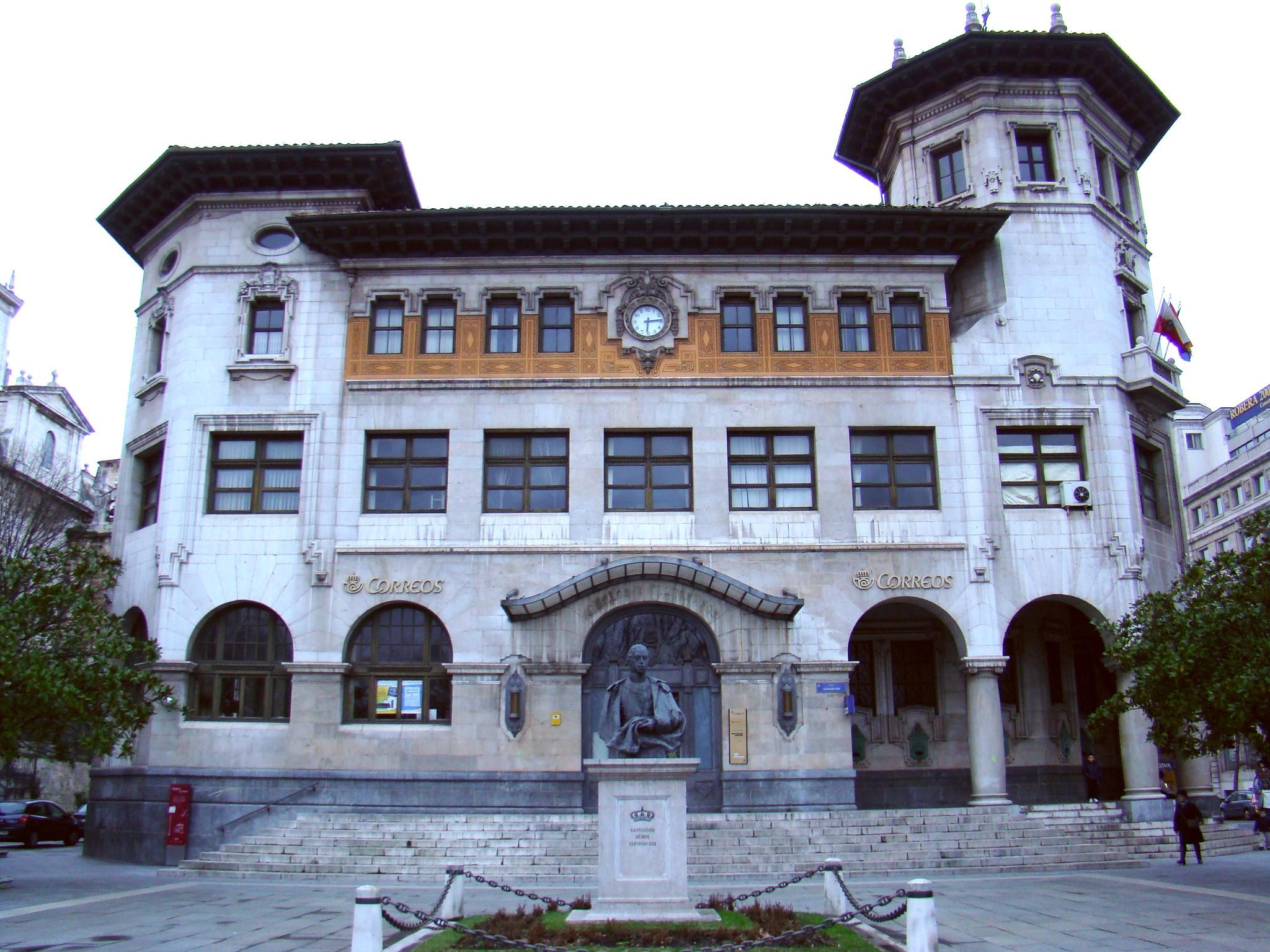 edificio Oficina de Correos Santander Cantabria