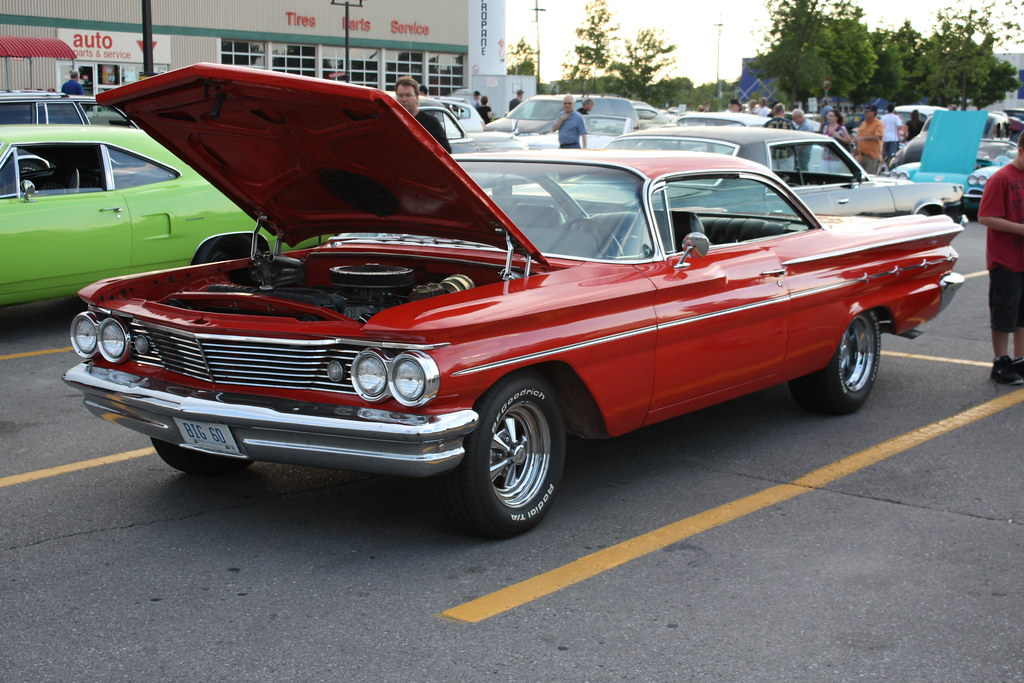 1960 Pontiac Laurentian 2 door hardtop | Richard Spiegelman | Flickr