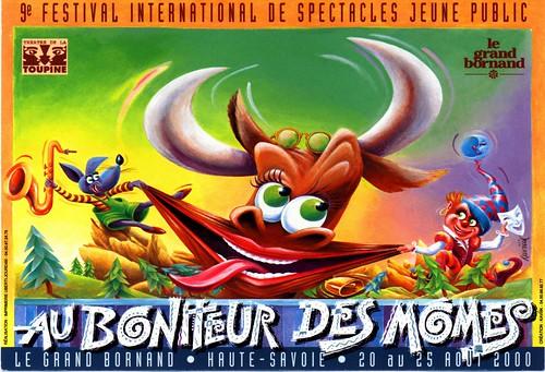 Affiche Festival Au Bonheur des Momes-2000 | by Le Grand-Bornand