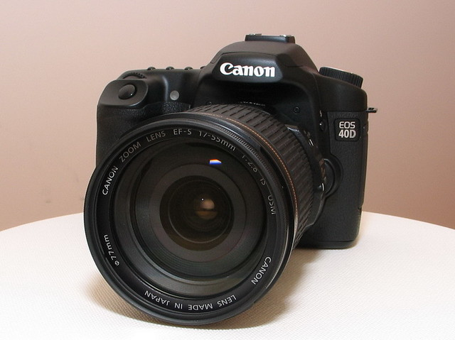 Canon EOS 40D w/ EF-S 17-55 IS USM | Bought EOS 40D body and