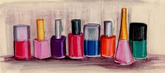 nail polish, study number two   by linda boucher