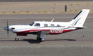 New Piper PA-46-500TP Meridian N3129X