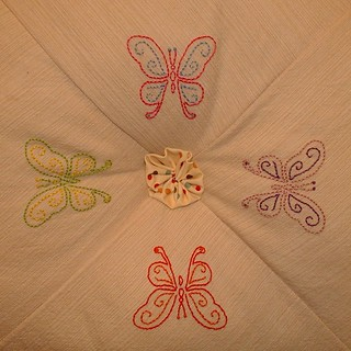 butterfly pillow | by sunshine's creations