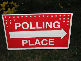 Election - November 2, 2010 - Polling Place Sign | by Mrs. Gemstone