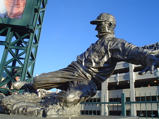 Statue of Ty Cobb | by aaronjwebb