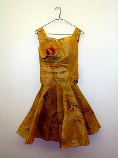 Shopper's dress, hanger | by mleak