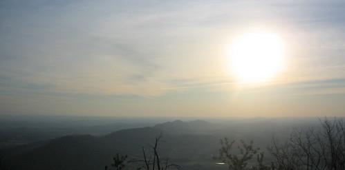 sunset sun mike me scott tim knoxville hiking tennessee hike vista hikers housemountain theparadigmshifter