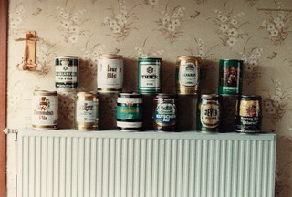 Beer Cans - Dour, Belgium 1985 | by broken thoughts
