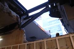 construction at Den Haag CS