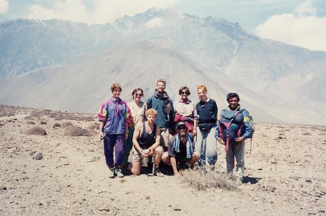 With My Annapurna Circuit Trekking Companions