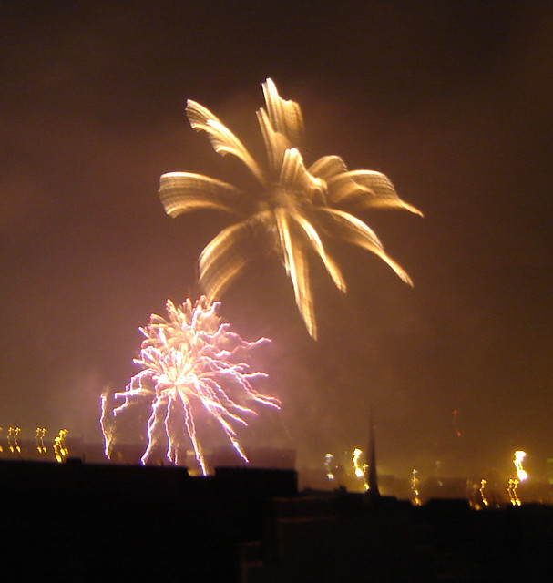 Happy New Year 2007 from Helsinki, Finland