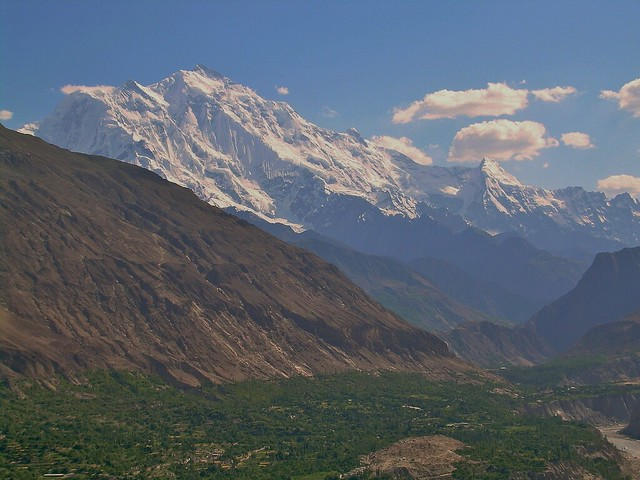 View from Baltit Fort, Hunza, Pakistan - June 2006