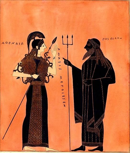-0540 La disputa de Atenea y Posidón