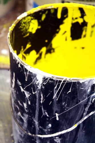 Painfully bright paint bucket   by quinn.anya