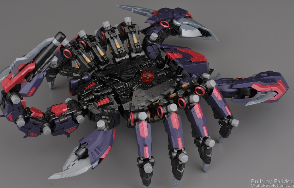 HMM Zoids - Death Stinger Review 1