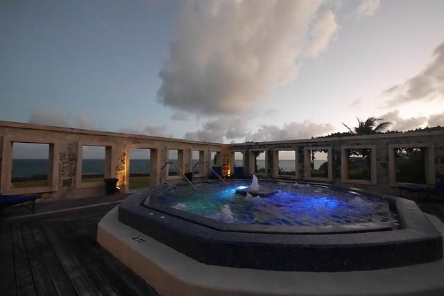 水, 2015-12-09 16:50 - 夕方のCraneリゾート