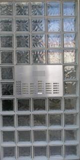 Moderner Eingang