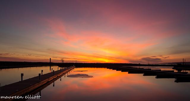 Light Over The Docks