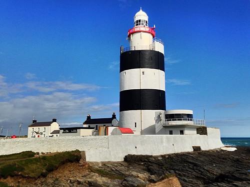 wexford hooklighthouse walls sea coast ireland irish scenic sky clouds iphone5 2016onephotoeachday