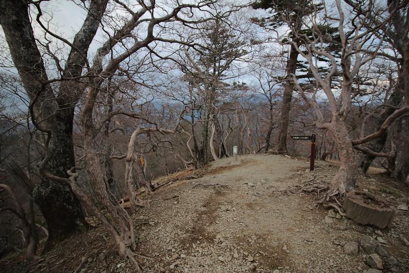 大峰山の八経ヶ岳