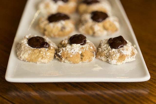 02/2016 - Chocolate Thumbprint Cookies