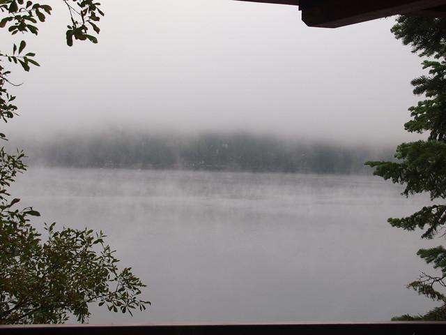 O8080038 Donner Lake morning mist