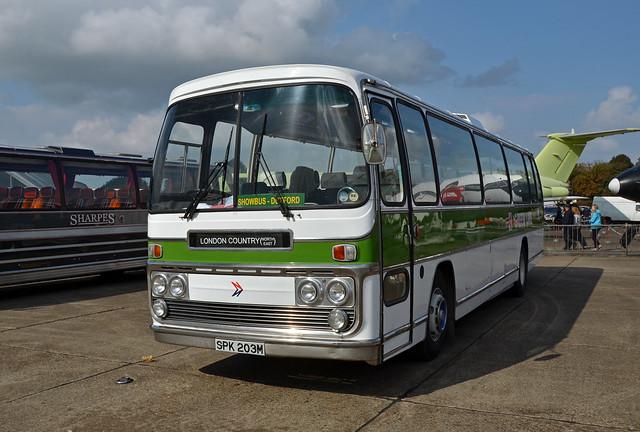 SPK203M AEC Reliance Plaxton Elite P3 bodied London County1a