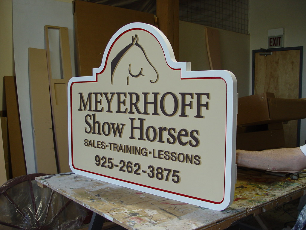 Outdoor Business Signs By Strata Custom Wooden Outdoor Sig Flickr