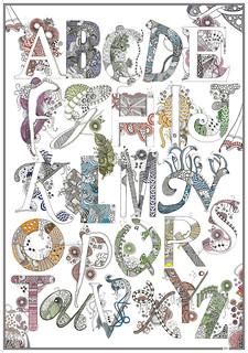 alphabet_print_70x100 | by opassande