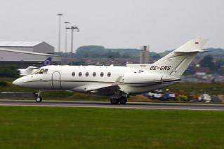 Luton 7-07 Hawker 800 OE-GRS 1