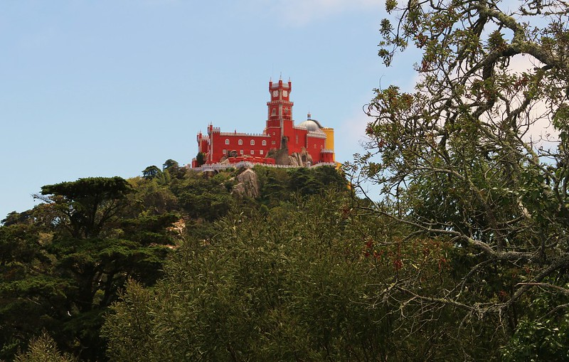 Castle of the Moors, Sintra Portugal