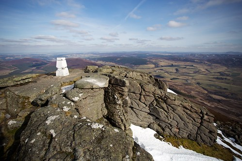 Ben Rinnes summit area | by Nick Bramhall