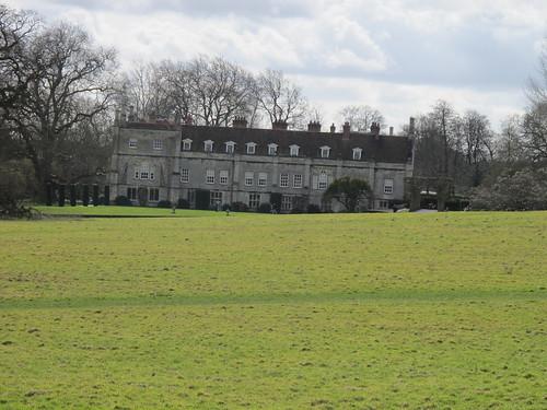 Mottisfont Abbey from footpath SWC Walk 58 Mottisfont and Dunbridge to Romsey taken by Karen C.