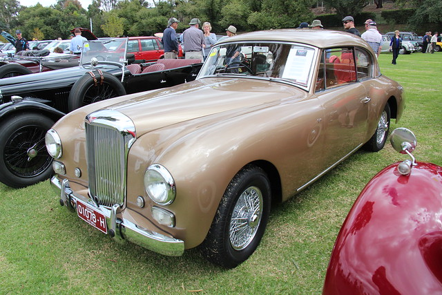 1953 Alvis TA 21G Graber Coupe