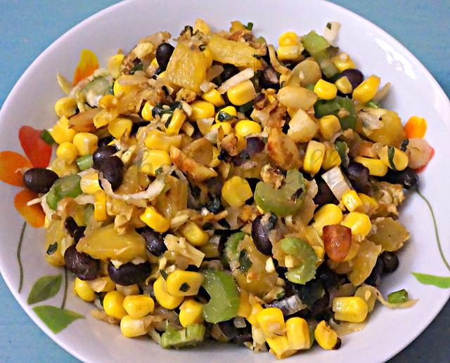 Black Bean Pineapple Salad -edit