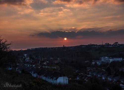 sunset sundown hastings