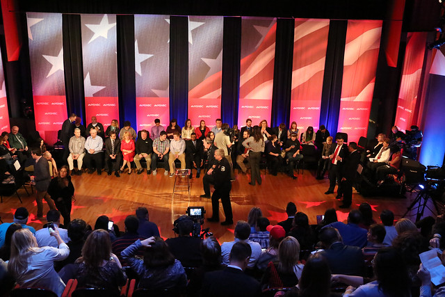 MSNBC Town Hall Featuring Donal Trump at Weidner Center
