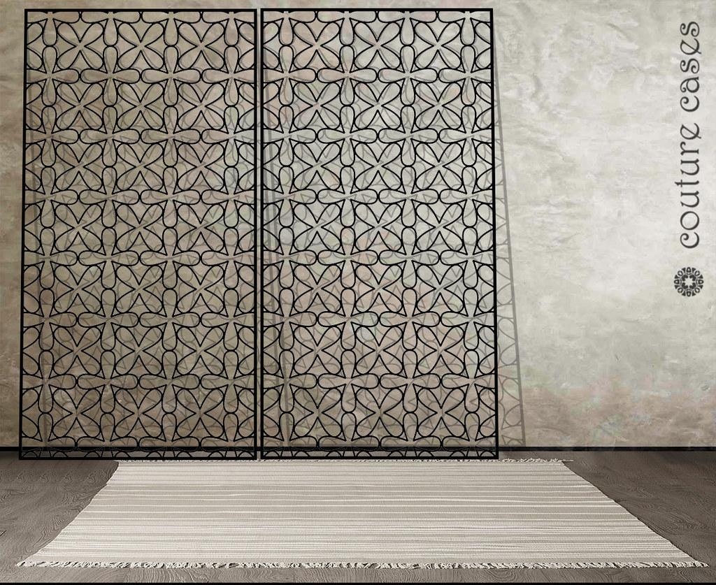 CLOVER laser cut metal screens contemporary | Decorative las