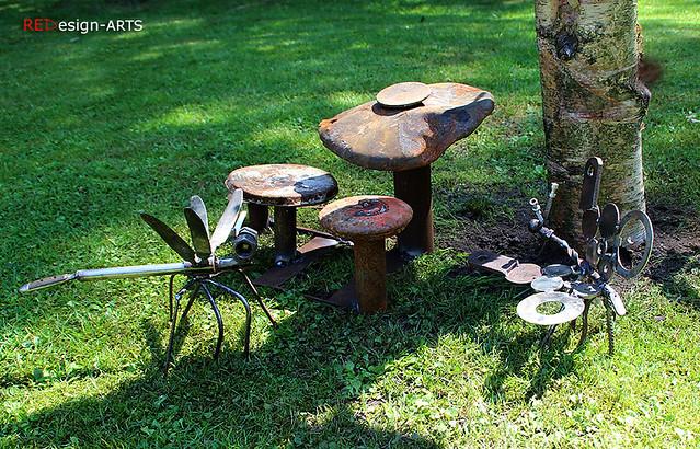 Kleinere Skulpturen - OutdoorART