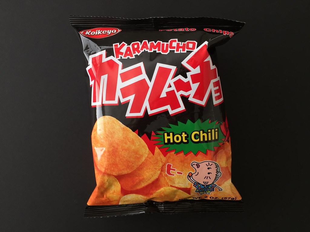 Karamucho Hot Chili Potato Chips   Karamucho Hot Chili Potat